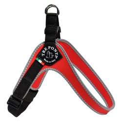 adjustable red harness
