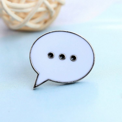 Talk to me Pin