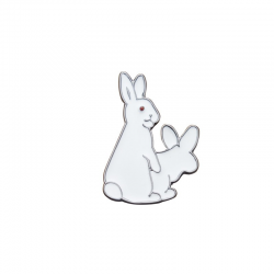 Rabbits Pin