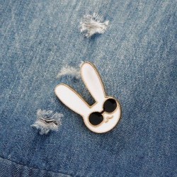 Fancy rabbit Pin