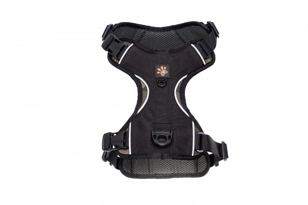 szelki WARRIOR HARNESS czarne