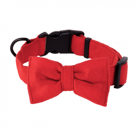 Dog Collar Mr. Fox - juicy strawberry