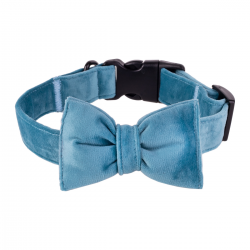 Dog Collar Mr. Fox - blue blood