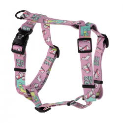 guard harness PINK bulldogs