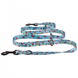 ADJUSTABLE LEASH forget-me-nots / mix