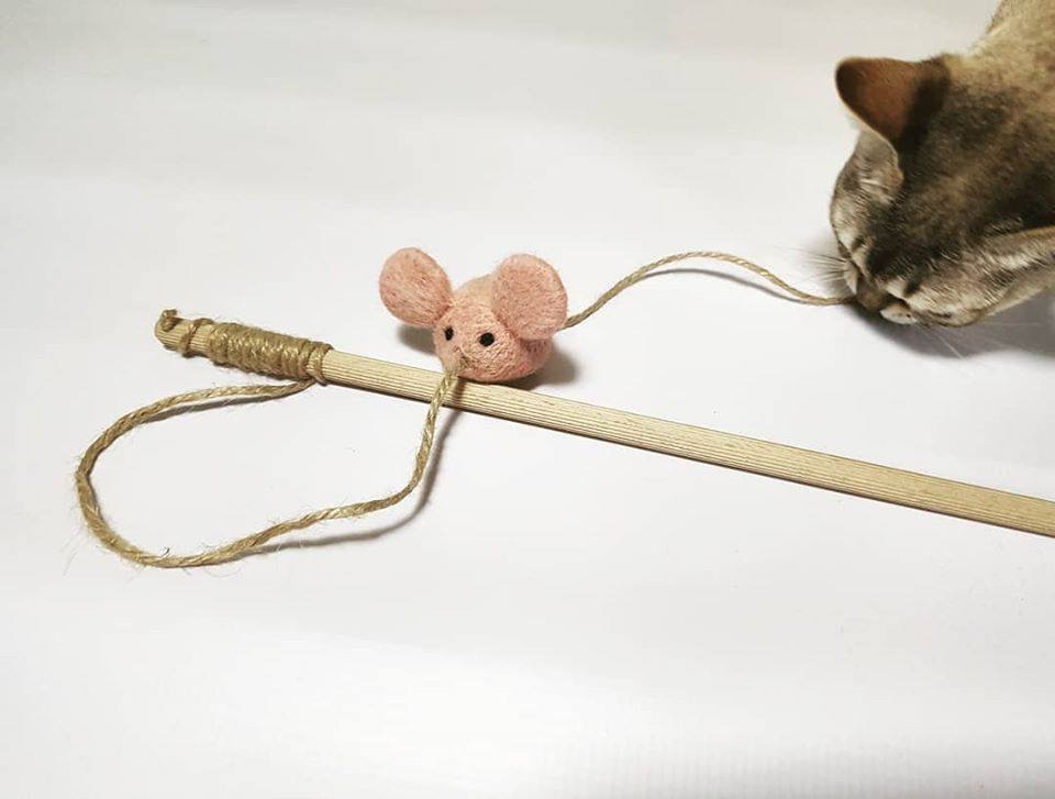 """Cat Toy """"Mouse"""""""